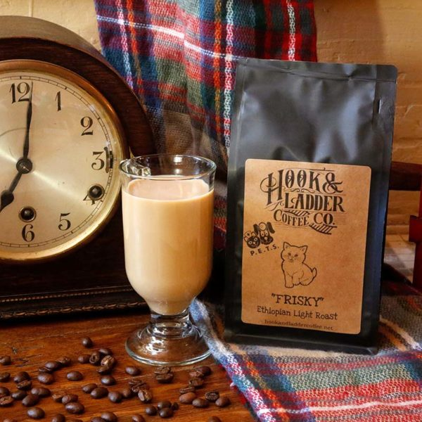Coffee that benefits Animal Welfare Frisky