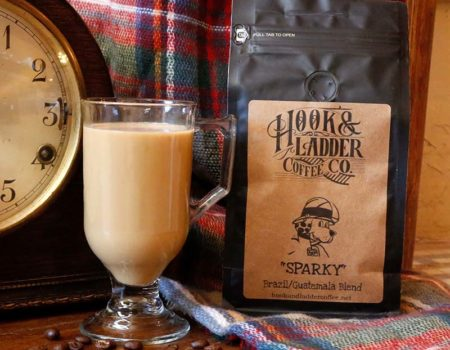 Coffee that benefits Animal Welfare Sparky