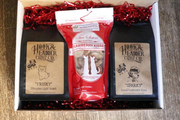 dog treat gift set