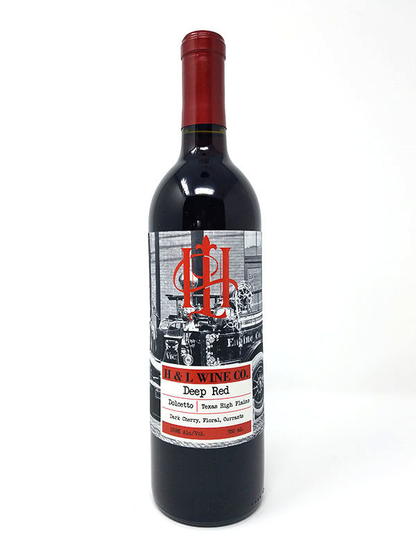Picture of Deep Red Wine Bottle