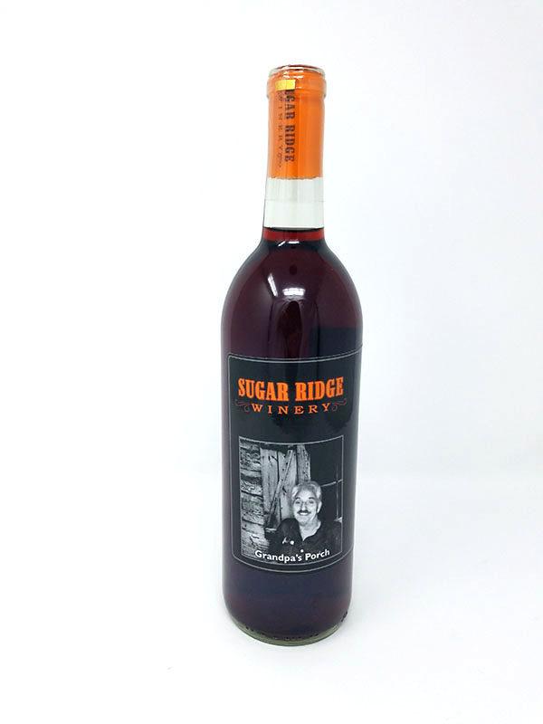 Grandpas Porch Sweet Red Wine Pictured