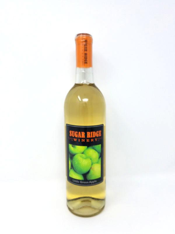 Sweet White Wine Green Apple - Local Winery
