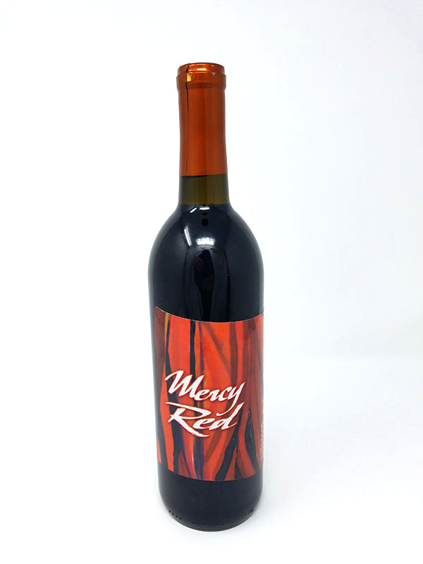 Wine Bar - Mercy Red Bottle Pictured
