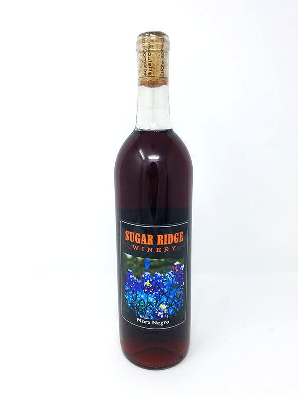 Winery Bottle Pictured Sweet Wine Mora Negro
