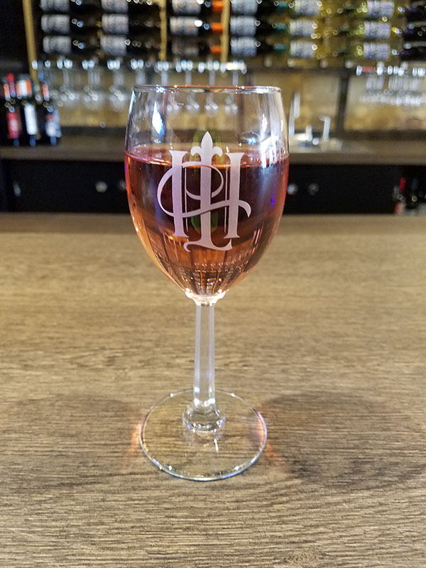 Pink Darling Pictured - Blush Zinfandel Wine